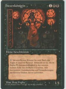 ►Magic-Style◄ MTG - Sorceress Queen - German Revised FBB - NM
