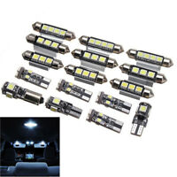 16x super bright Xenon White LED Interior & Dome & License Plate Reading Light