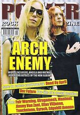 ARCH ENEMY / DEAD BY APRIL / DEZ FAFARA	Power Play	No.	112	Aug	2009