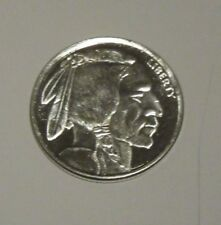 BUFFALO NICKEL - 1/10oz .999 Fine Silver Round -