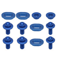 CNC Screw Bolts of Radiator Shrouds For Yamaha YZ125 YZ250 2008-Current Blue