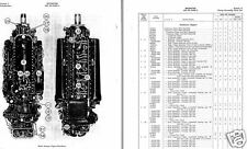 ROLLS ROYCE MERLIN PARTS MANUALS archive + PACKARD engine RARE DETAILS 1940's