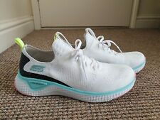 SKECHERS SOLAR FUSE WOMENS WHITE TRAINERS SIZE UK 5.5
