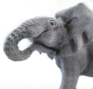 Elephant Figurine Standing On the Ready