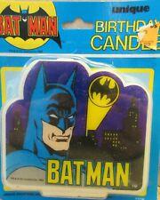1982 Batman Birthday / Wedding / Party / Cake Topper Candle NIP / Box 211