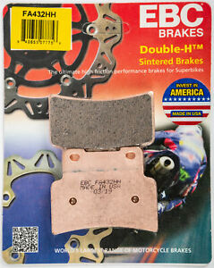 EBC Semi Sintered V Rear Brake Pads For Aprilia 2011 Dorsoduro 750