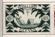 Polynésie Française-Océanie 1931-42 Early question fine Comme neuf Charnière 40 C. 164328