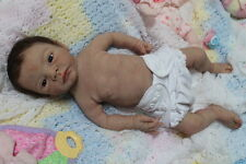 Tiny Timm's FBS full body silicone reborn baby girl doll Yentle Breedveld