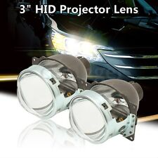 2x 3'' Bi-xenon Q5 H4 Car HID Headlight/Fog Light Projector Lens Kit Hi/Lo Beam