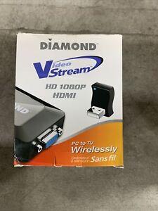 DIAMOND brand HD 1080P VideoStream PC to TV Wirelessly