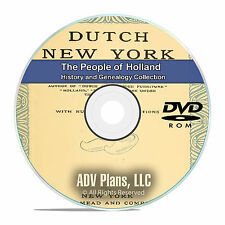 Holland People Cities Family History and Genealogy 80 Books DVD CD B22