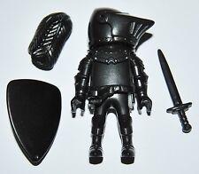 31257 Caballero negro playmobil black knight, cavaleiro,medieval