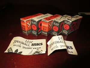 38 Vintage Nibs B-5 Speedball Hunt Mfg Co B-2 Drawing Lettering Pens B-4 Instruc