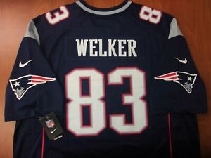 Vintage Nike NFL New England Patriots Welker Authentic On Field Jersey XXL ~NWT~