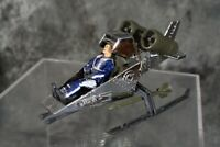 1990 Hasbro GI Joe SKY PATROL ARAH CHROME with FIGURE  W/ FREE SHIPPING