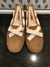 Women's UGG Chestnut Dakota Sunshine Perf slippers- Size 10- #1019199