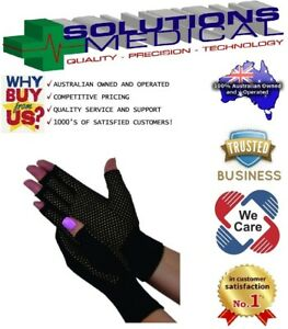 Dick Wicks Magno Gloves Compression Warmth Magnetic Therapy FAR infrared (Pair)