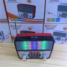 BLUETOOTH SPEAKER PORTATILE CON RADIO FM, SUPPORTA MICRO SD, WS1813