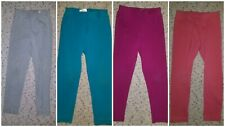 Hanna Andersson Cotton Blend Elastic Waist Solid Leggings Size 4 (110)