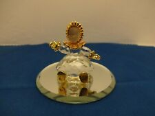 "SWAROVSKI Crystal & Gold Memories Classic  Miniature ""BABY DOLL"" please read"