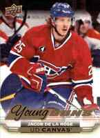 2015-16 Upper Deck Young Guns Canvas Jacob De La Rose Rookie #C102
