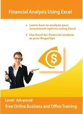 Financial Analysis Using Microsoft Excel Training Tutorial