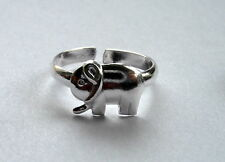 Ring ! Brand New ! Sterling Silver (925) Adjustable Elephant Toe