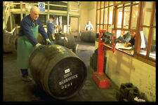 489009 Weighing Whiskey Barrels Benrinnes Distillery Scotland A4 Photo Print