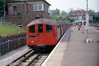 London Underground 38 Stock Stanmore 31/05/78 Rail Photo A