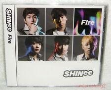 SHINee Fire Taiwan Ltd CD only +Card +Sticker  [Japanese Lan]