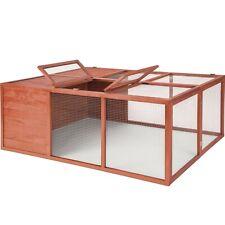 Cage clapier enclos lapin nain hamster cochon d'Inde rongeur maison extérieur