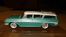 1961 61 AMC Rambler Classic station wagon promo model. promotional car.