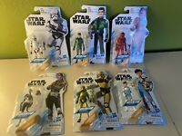 Star Wars Animated Resistance 6 Figure Set Pyre- kaz- Stormtrooper Etc NEW!!!!