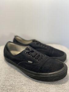 Vans Authentic / Black / Size 8 UK