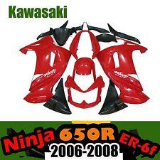 Motorcycle Fairing Kit For 06-08 Kawasaki Ninja 650R ER-6f 2006-2008 07 2007 ABS