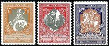 Imperial Russia, Scott#B9, B10, B13, Michel#100C, 101C, 104C, perf. 13 1/2, MHOG