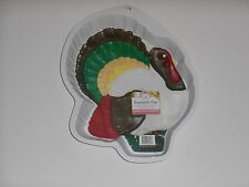 New CK Products TURKEY Plastic THANKSGIVING DAY Holiday Cake Pan Mold #49-3012
