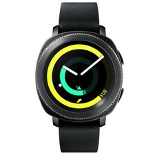 Samsung SM-R600 Gear Sport Fitnesswatch schwarz Smartwatch 4GB Bluetooth