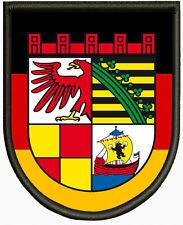 Wappen von Dessau-Roßlau Aufnäher, Pin, Aufbügler