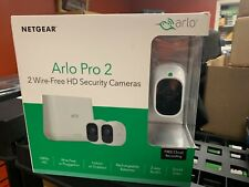 OB Netgear Arlo Pro 2 2-pack Wireless Camera Security System 1080p HD VMS4230P