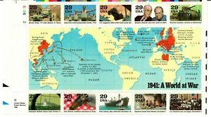 Scott 2559 World War II: 1941: A World at War MNH Free shipping in USA!