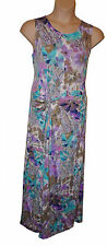 BNWT size XLarge  ANNALEE & HOPE SLEEVELESS MAXI DRESS in Lilac Multi