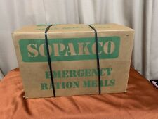 SOPAKCO MRE Emergency Survival Military Ration 1 Case 14 Meals = 1 week of food