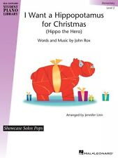 I Want a Hippopotamus for Christmas Hal Leonard Student Piano Library  000129399