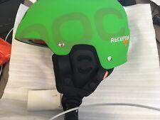 POC receptor + Helmet S GREEN