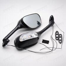 Black Motor  Side Mirrors For Suzuki SV650 650S 03-08 SV1000 SV1000S 03-07  YM