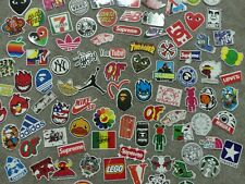 10 Pack Random Assorted Skate Stickers Free Shipping