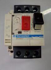 Telemecanique #(GV2-ME07 C) ON/OFF Circuit Breaker (1.6 - 2.5)AMP