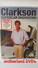 Clarkson Supercar Showdown [DVD] NEW & SEALED, Multi Region, FREE Next Day Post