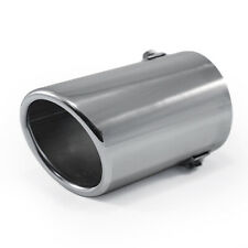 Universal Exhaust Tip Trim Tail Pipe For Fiat Bravo Brava 500 Albea Siena Stilo